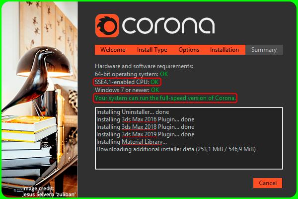 Установка Corona Renderer 1 7 4 в 3DS MAX