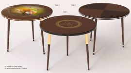 3D models of coffee tables