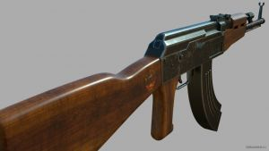 Download 3d model ak 47